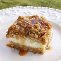 Caramel Apple Cheesecake Bars The Girl Who Ate Everything