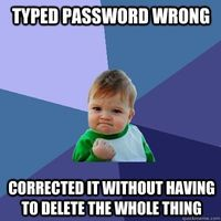 Password success.