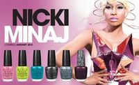 Nicki Minaj nail polish...