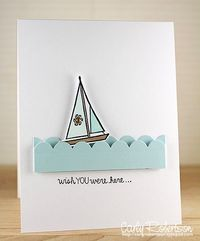 CASE Sailing card.