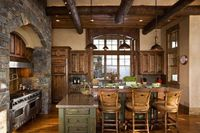 rustic interior... love.