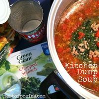 A great post detailing how to make an endless variety of soups with staples you have on hand!