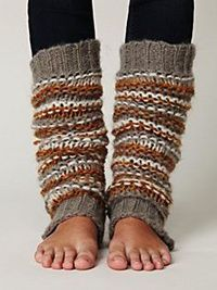 "legwarmers. Reminds me of college...working out to ""Jane,"" and dancing to Pat Benetar"
