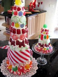 DIY candy trees