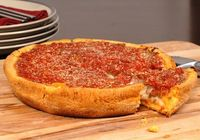 Deep dish pizza :)