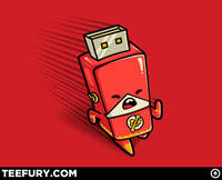 Flash Drive from teefury.com