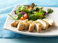 Honey glazed chicken #healthy #lowfat