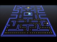 Minecraft Pac Man in stop motion