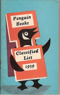 Penguin Classified list 1959, via Covers etc
