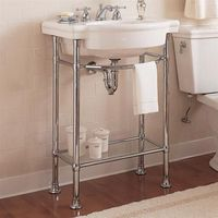 American Standard Retrospect Console Table. Chrome Finish. 192.10