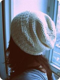 Pattern how to crochet this slouch hat! Fun!