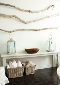 nature as decor. simple, free, available.