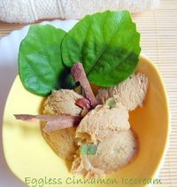 Eggless Cinnamon Icecream With Roasted Almonds: My creamiest and best ice cream till date is this Eggless Cinnamon Icecream that too with Roasted almonds. After tasting this Cinnamon Icecream I am deeply, madly in love with cinnamon. Let me not forget to ...