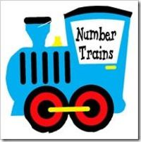 counting activity for 3-7 year olds-trains:)