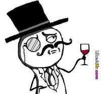 How I feel when I drink wine - That is before I get too drunk to remember what happened