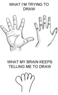 This is totally how I draw.