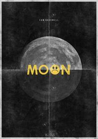 Hannes Beer project posters - Moon movie poster