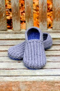 Free Crochet Pattern - Family Slippers
