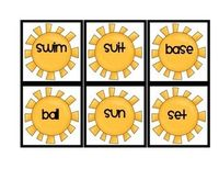 Play a game of memory to practice combining words to make compound words. All the compound words have a summer theme!! Yay summer!! Please look f...
