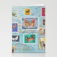 Butterflying the Caribbean art cards by catherine holcombe