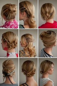 fun ideas for long hair...