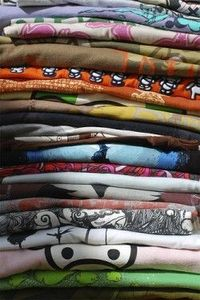50 ways to recycle a teeshirt