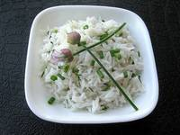 how to make coconut rice recipe