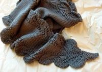 double Leaf Saroyan scarf pattern free from Ravelry