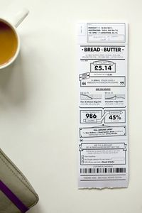 rethink: redesigning the receipt