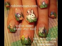 Bunnies...nail polish...yes, please?!