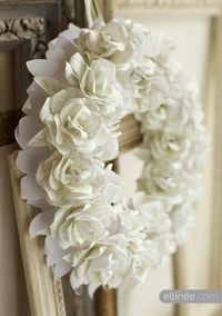 beautiful paper roses!