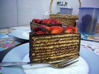 Nutella Dobos Torte: Worth every efforts.... should try!