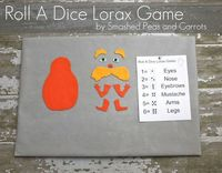 Roll A Dice Lorax Game