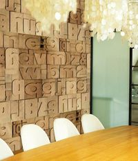 typography on walls