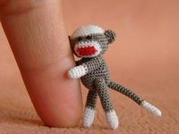 teenie sock monkey sarah would want