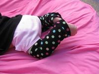 How to Sew Baby Legwarmers