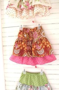 Ruffled Skirt tutorial: I think I can do this!