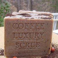 Brazilian Pure Coffee + Organic Coffee Butter & Essential Oils Scrub Soap Bar $10.00