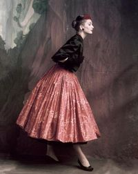 Suzy Parker (1912-1970) by John Rawlings for Vogue, October 1953