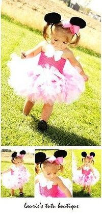 Minnie Mouse tutu for halloween!