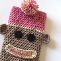 Sock monkey Iphone case
