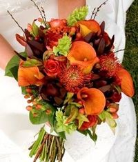Gorgeous bouquet for a Fall wedding
