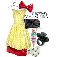Main St. USA, created by lalakay on Polyvore
